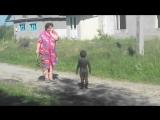 Контакт с пришельцами НЛО в деревне Уникальные редкие кадры)) Прикол с детьми (1)