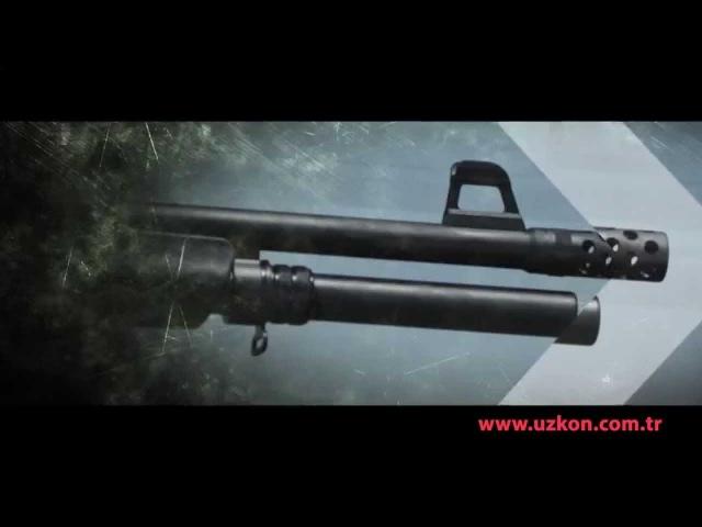 UZKON AS16 PUMP ACTION SHOTGUN