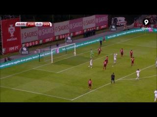 Португалия - Дания 1-0 (8 октября 2015 г, отборочный турнир Чемпионата Европы)