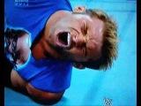 WWE WrestleMania 28 Eve Torres Kicks Zack Ryder's Balls!~