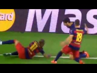 Барселона - Байер 2-1 Лига Чемпионов обзор матча 29.09.15