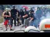 Anarchists VS Greek Police summer 2015