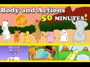 Body, Movement, Action Songs Collection for Toddlers and Kids - ELF Kids Videos - Episode 1