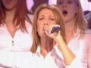 Celine Dion ft Johnny Halliday l'envie les 500 choristes 5 nov 2005 live