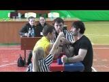 Универсиада 2015. Александр Логвин - Сослан Кцоев (правая рука) финал 85 кг
