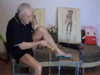 Массаж ног при сахарном диабете