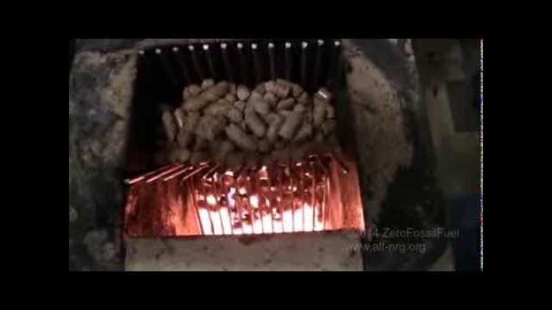 354 Rocket stove heater wood pellet mod
