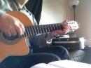 Del Asire Guitar Instructional Coverچگونه آهنگ دل اسیره را با گیتار بنواز