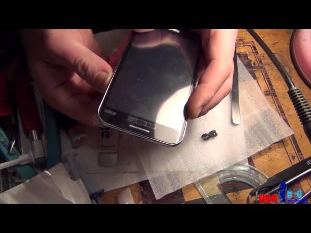 Samsung I8552 замена тачскрина и хитрая посылка