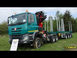 New TATRA Phoenix Euro 6 timber truck - truck walkaround