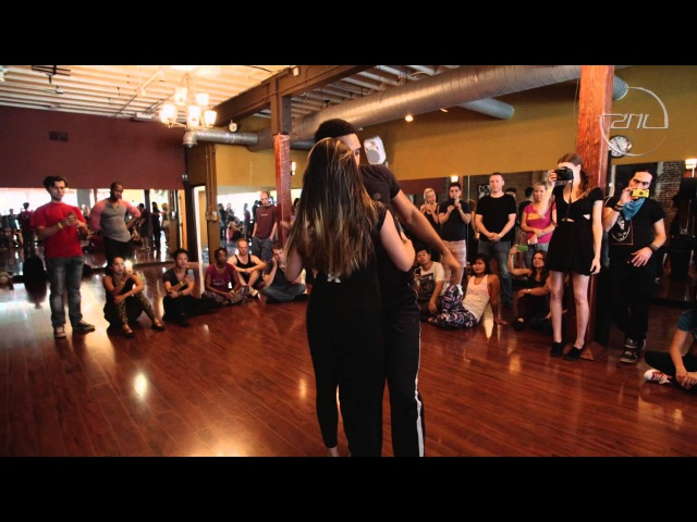 WIlliam and Paloma - Dance Festival at the Center of the Universe 2015 - Zouk Demo
