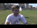 Players of FC Terek speaking about match of Russian national team VS the team of Liechtenstein