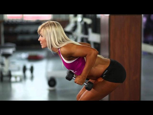 Bodymaster : Разгибание двумя руками на трицепс в положении стоя (женская версия)