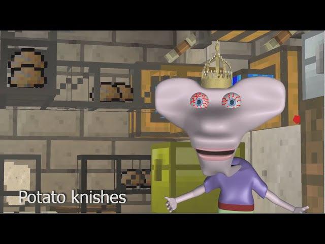 С картохой пироги / Potato knishes rus
