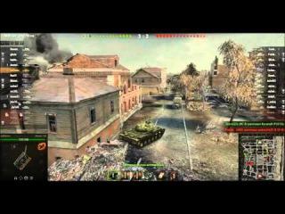 Западенец-каратель на «Объект 140» размотал сепара на ИС-8 , World of Tanks!