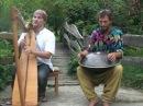 Alizbar Amin Varrkonyi/ Hang drum with celtic harp