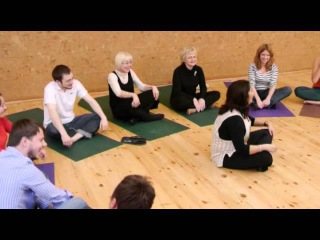 3rd lesson of LAUGHTER YOGA video course with ANJU SHAHANI
