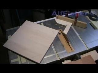 Столярка. Приспособление для обрезки углов