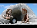 Каменный век.Смешной мультик Видео мультики