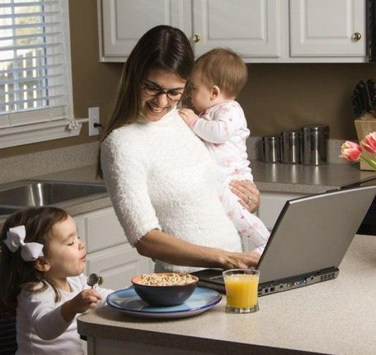 работа на дому через интернет мамам