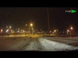 результат уборки снега,чуть не лишил автомобиля!!!