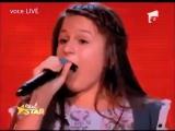 'Любовь, похожая на сон' - румынская девочка потрясла публику песней Аллы Пугачёвой! Музыка - общий язык народов - факт!