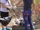 Хохлы закопали остатки тел в лесочке