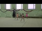 Василиса Мустафина. Первое выступление. Художественная гимнастика. 6 лет