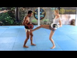 How I kicked a Thai Boxer in the Balls! :-)