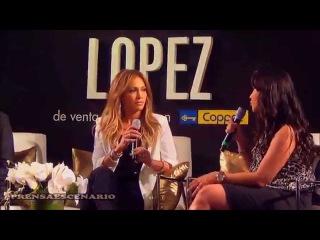 JENNIFER LOPEZ - DESFILE - CONFERENCIA DE PRENSA- COPPEL