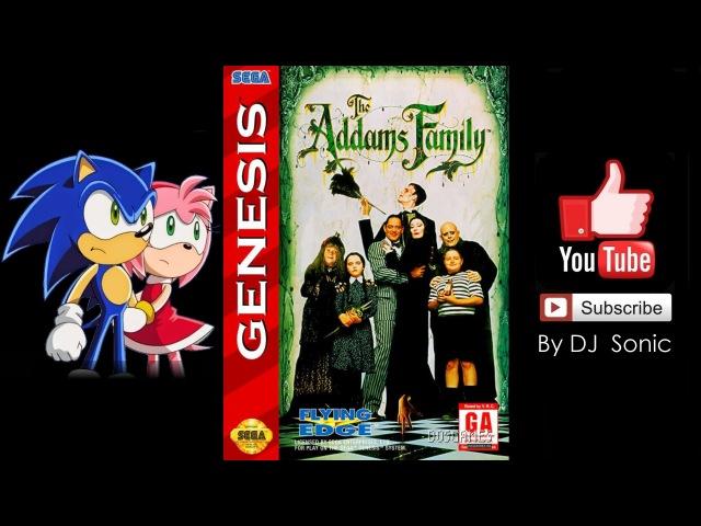Addams Family (Sega 1992) Полное Прохождение