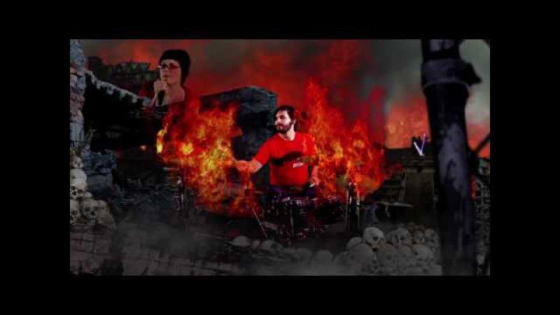 Iwrestledabearonce - Danger In The Manger (OFFICIAL VIDEO)