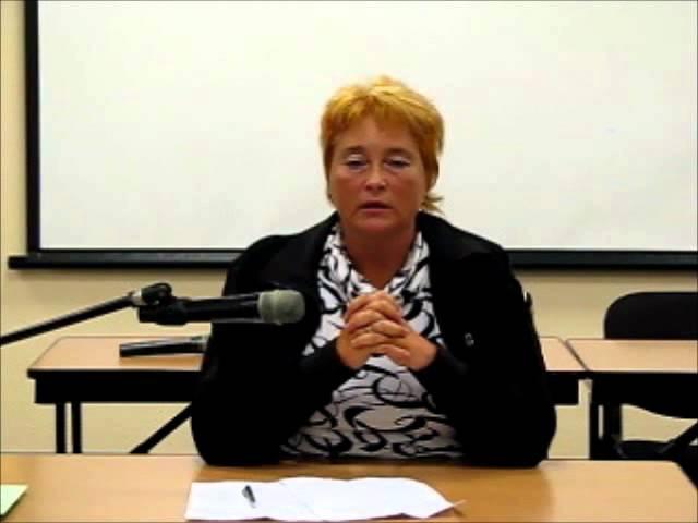 Екатерина Веселовская на конференции Прошлые Жизни