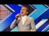 Простой парень, работающий в супермаркете, на Шоу Х-Фактор Британия 2012. Джамейн Дуглас с песней Наконец-то  (оригинал Этта Джеймс).  The X-Factor UK 2012. Jahmene Douglas' audition - Etta James'