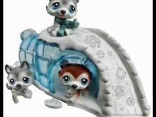 ЛИТЛ ПЕТ ШОП игрушки из серии тройняшки LITTLE PET SHOP toys from the series triplets