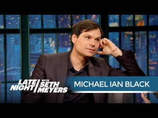 Michael Ian Black Talks Returning to Wet Hot American Summer - Late Night with Seth Meyers