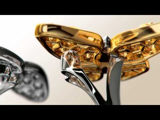 The Two Butterfly Between the Finger™ Ring by Van Cleef Arpels