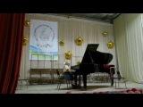 Алиса 6 лет, Бетховен - Сонатина соль мажор, Геталова - Утро в лесу