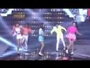 111230 Super Junior INFINITE 4minute f x Shuffle Dance on 2011 KBS Music Festival