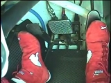 Foot work from the HRT V8 Supercar hot lap