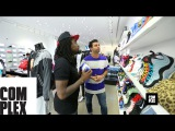 Wale Goes Sneaker Shopping With Complex