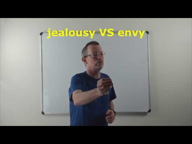 Learn English: Daily Easy English Expression 0767: jealousy VS envy