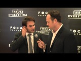 Charlie Cox talks Daredevil at the Theory of Everything Premiere with Brad Blanks