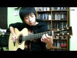Очень красивая игра на гитаре! Музыка завораживает