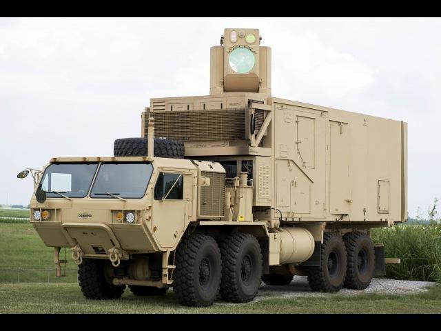 HEL-MD UAV Mortars Intercept