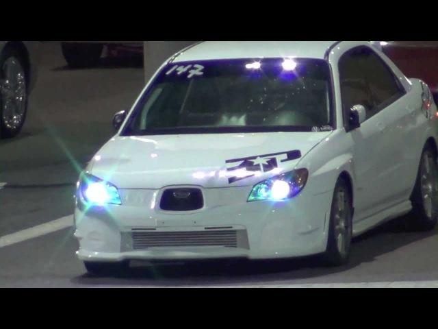 Crazy Fast Subaru WRX vs Dodge Neon SRT4 Drag Race