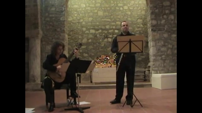 S Bertolami Melodia Siciliana Flauto Alberto Vocaturo Chitarra Enza Sciotto