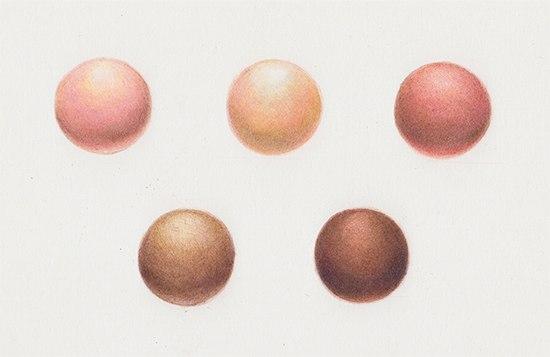 Как карандашами нарисовать цвет кожи