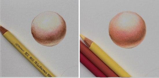Как сделать цвет кожи с карандашами