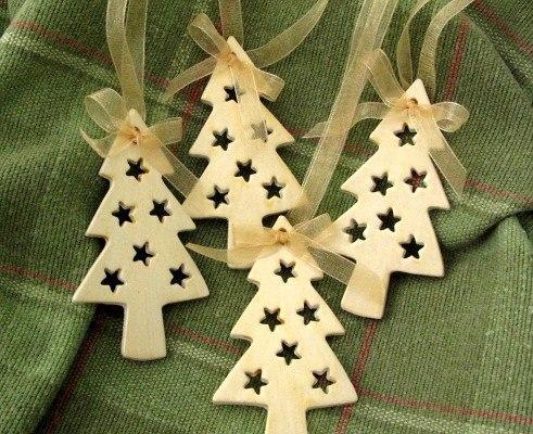 Деревянные игрушки на елку своими руками
